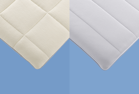 Outer cover(quilt for winter, mesh for summer) is reversible, which ensures a comfortable use all year round simply by flipping over to change surface.